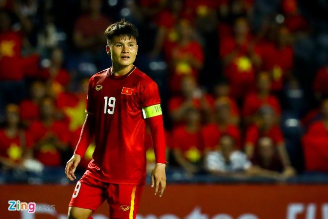 Van Hau chuc Quang Hai, Bui Tien Dung chien thang U23 Trieu Tien hinh anh 2 U23_Viet_Nam_vs_Trieu_Tien_1_zing.jpg