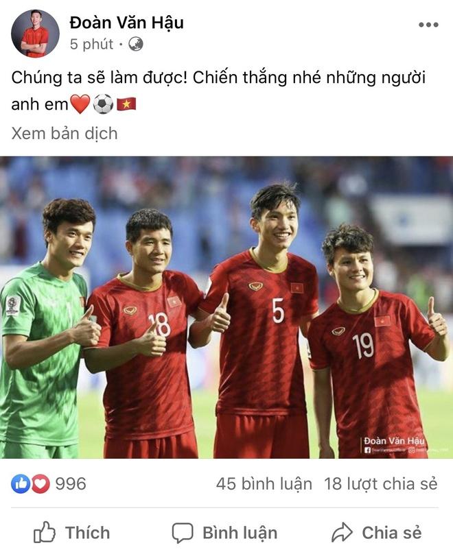 Van Hau chuc Quang Hai, Bui Tien Dung chien thang U23 Trieu Tien hinh anh 1 d37.jpg