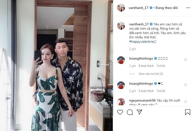 Duc Chinh, Van Thanh khoe anh ngot ngao ben ban gai trong Valentine hinh anh 3 n13.jpg
