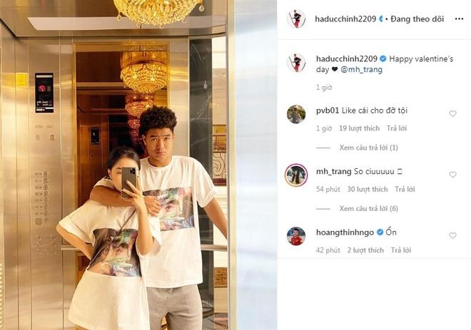Duc Chinh, Van Thanh khoe anh ngot ngao ben ban gai trong Valentine hinh anh 2 n15.jpg