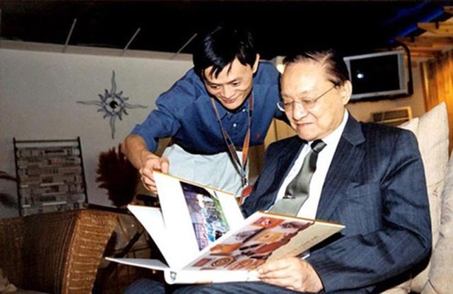 Kim Dung anh huong den ty phu Jack Ma nhu the nao? hinh anh 1