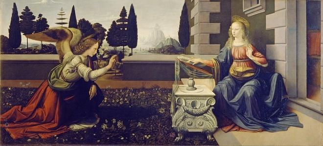Bi an nhung buc tranh chu de Cong giao cua Leonardo da Vinci hinh anh