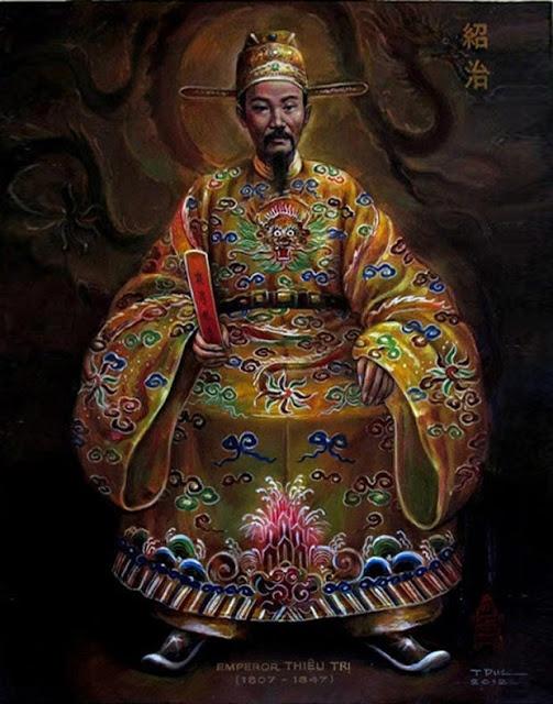 Vua Thieu Tri duyet sach Ngoc diep nhu the nao? hinh anh 1