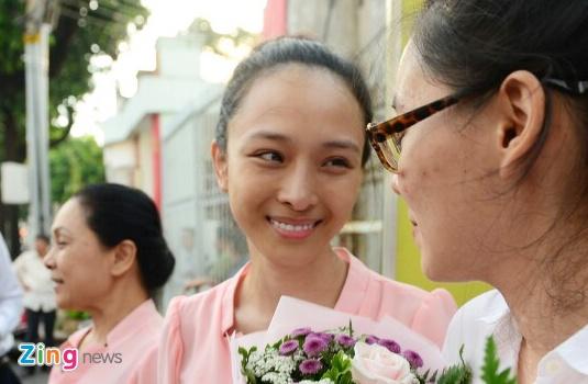 Thuy Dung ke nhung ngay o trai giam voi hoa hau Phuong Nga hinh anh