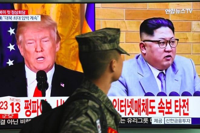 Trump khang dinh cuoc gap go voi Kim Jong Un dang duoc len ke hoach hinh anh