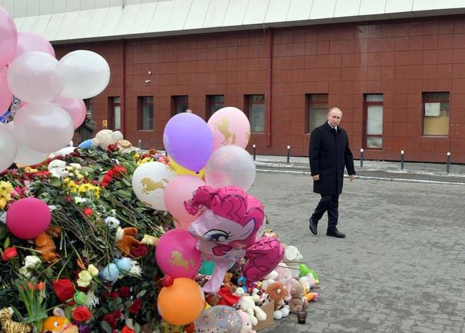 TT Putin: Vu chay trung tam thuong mai la do 'toi cau tha' hinh anh 1