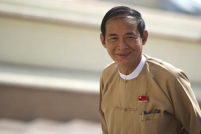 Myanmar bau tong thong anh 1