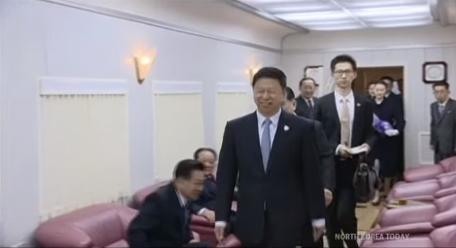 Hinh anh hiem hoi ve chuyen di Trung Quoc cua ong Kim Jong Un hinh anh 3