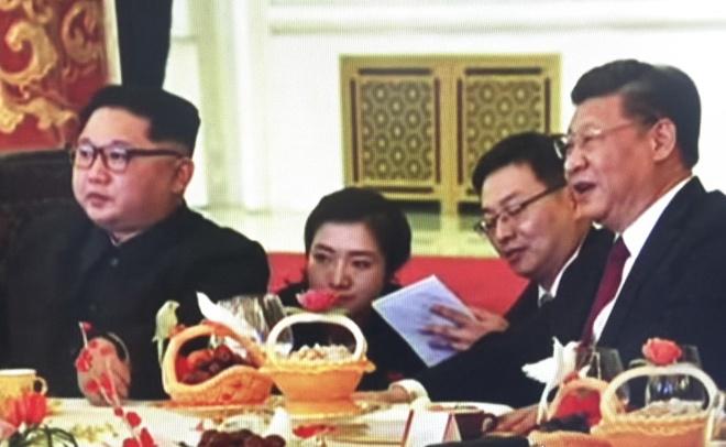 Hinh anh hiem hoi ve chuyen di Trung Quoc cua ong Kim Jong Un hinh anh 6