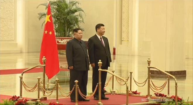 Hinh anh hiem hoi ve chuyen di Trung Quoc cua ong Kim Jong Un hinh anh 5
