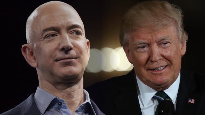 Pho Wall: TT Trump hay dung chien tranh thuong mai va 'tha' cho Amazon hinh anh