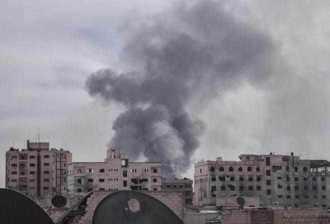 Nga: Israel khong kich ten lua vao can cu quan su Syria hinh anh