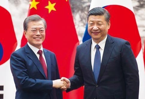 'Ban tay' Trung, Han trong song gio cuoc gap My - Trieu hinh anh