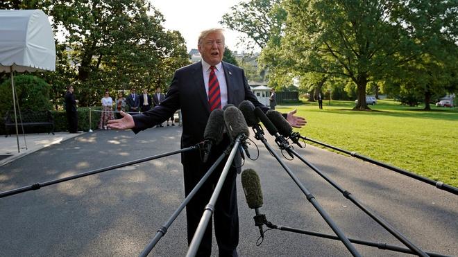 Giua luc bat dong voi dong minh, Trump muon Nga tro lai G7 hinh anh 1