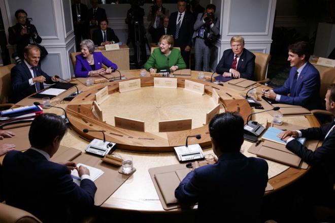 G7 tim tieng noi chung giua cang thang thuong mai voi My hinh anh