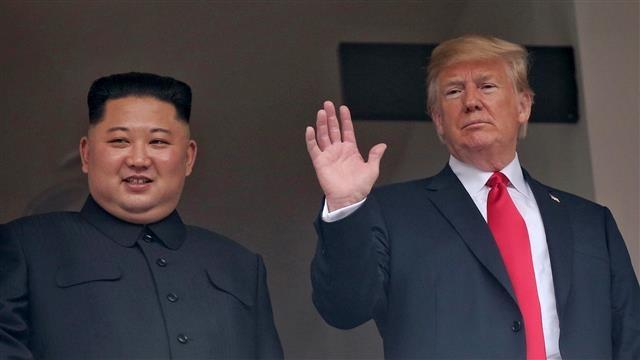 Trump - Kim no luc la the, Nobel Hoa binh van xa tam tay hinh anh