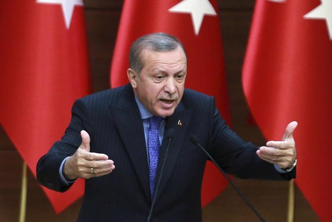Tho Nhi Ky bat dau tong tuyen cu, Erdogan e de doi thu manh hinh anh