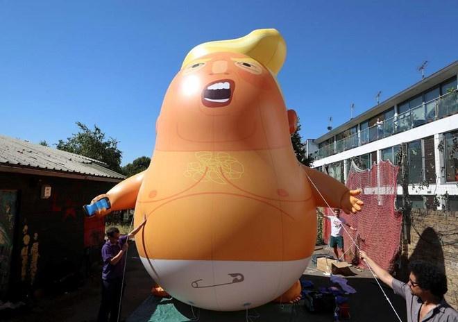 Trump: Brexit kieu ba May giet chet thoa thuan thuong mai My - Anh hinh anh 2