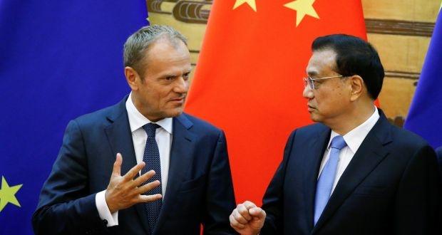 Trung Quoc va EU dam phan thuong mai trong luc Trump gap Putin hinh anh 2