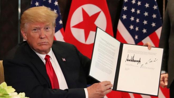 Trump khong dat thoi gian cho phi hat nhan hoa Trieu Tien hinh anh 1