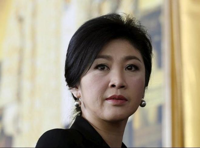 Thai Lan yeu cau Anh dan do ba Yingluck hinh anh