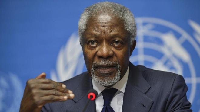 Cuu tong thu ky LHQ Kofi Annan qua doi o tuoi 80 hinh anh