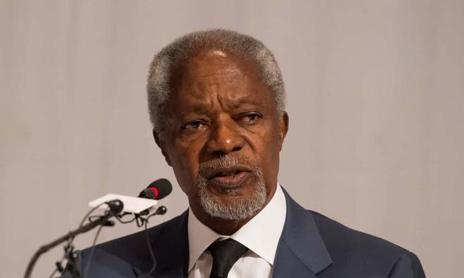 Cuu tong thu ky LHQ Kofi Annan qua doi o tuoi 80 hinh anh 1