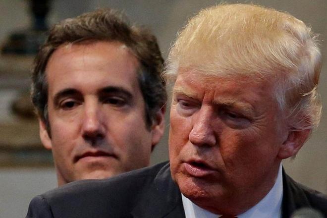 Trump co bi truy to sau khi Cohen nhan toi? hinh anh