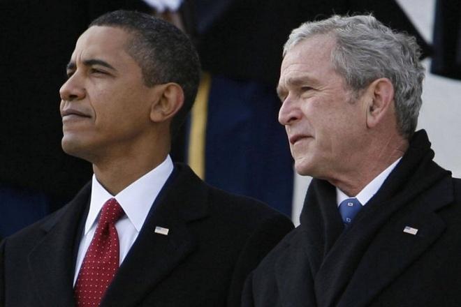 Bush va Obama se phat bieu tai tang le McCain, Trump khong duoc moi hinh anh