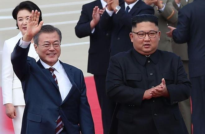 Ong Kim Jong Un cho doi 'quoc khuyen' di qua DMZ de tang TT Han Quoc hinh anh