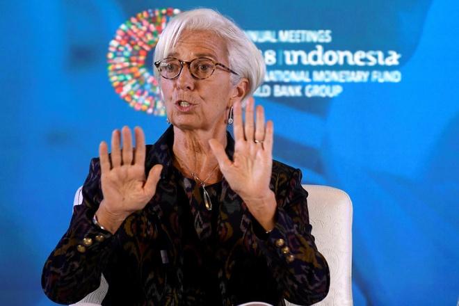 Lanh dao IMF: Chien tranh thuong mai, tien te ton hai 'nguoi vo toi' hinh anh 1