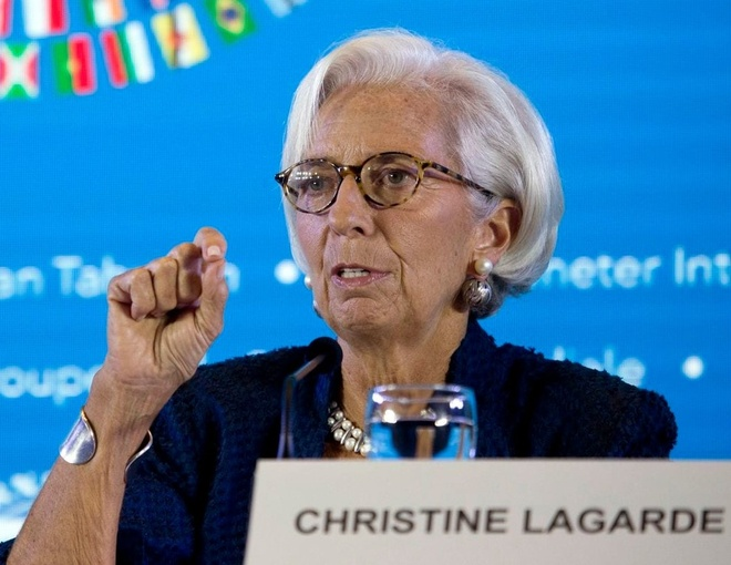 Lanh dao IMF: Chien tranh thuong mai, tien te ton hai 'nguoi vo toi' hinh anh