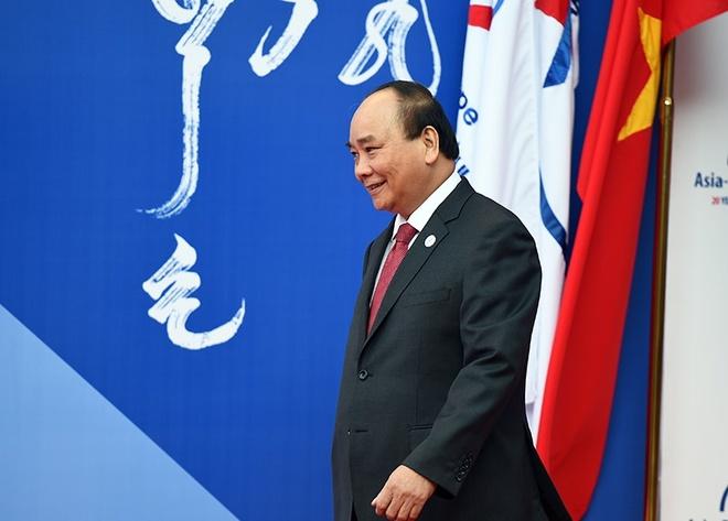 Thu tuong Nguyen Xuan Phuc tham EU anh 1