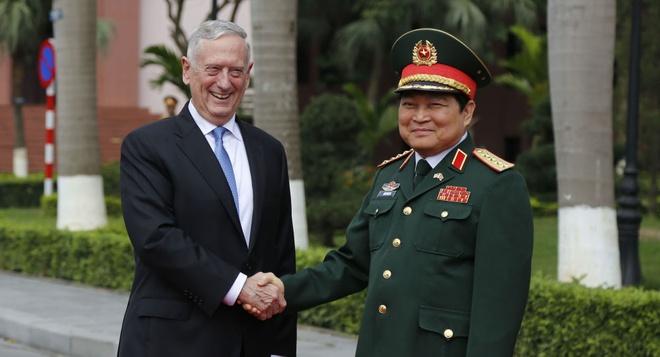 Bo truong Mattis tham VN, thuc day hop tac quoc phong Viet - My hinh anh 2