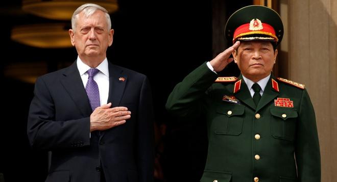 Bo truong Mattis tham VN, thuc day hop tac quoc phong Viet - My hinh anh 3