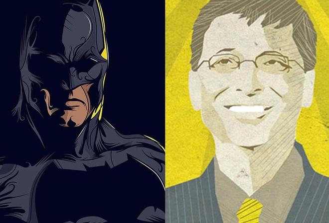 Cuoc so gang giua Bill Gates va Batman hinh anh