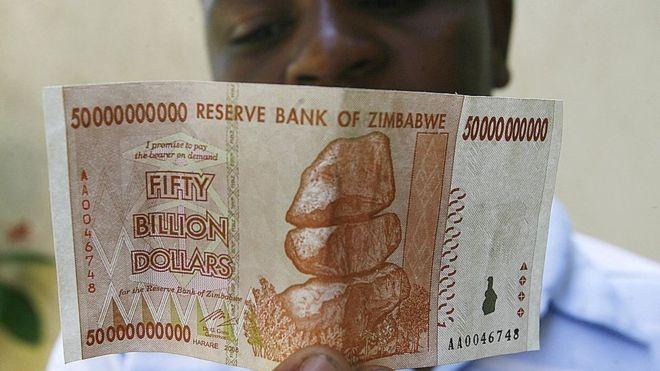 Zimbabwe chuan bi phat hanh 75 trieu 'phien ban USD' hinh anh