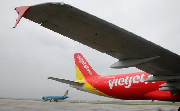 VietJet va Vietnam Airlines chay dua len san chung khoan hinh anh 1