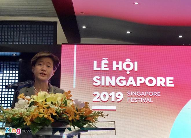 Gan 600.000 khach Viet du lich Singapore nam 2018 hinh anh 1