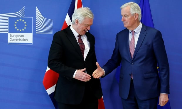 Anh va EU nhat tri cac dieu khoan cho thoa thuan chuyen tiep Brexit hinh anh