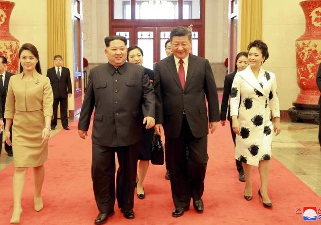 Bi mat ve chuyen tham cua Kim Jong Un? Day von la truyen thong hinh anh