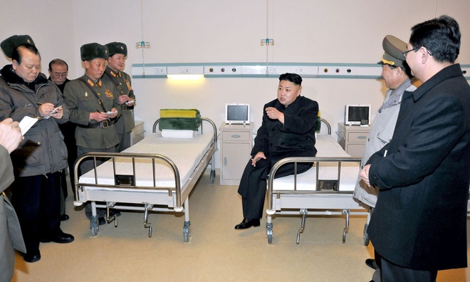 Kim Jong Un kiem che hut thuoc la trong cuoc gap lien Trieu hinh anh 1