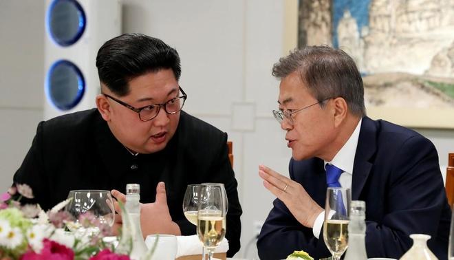 Kim Jong Un kiem che hut thuoc la trong cuoc gap lien Trieu hinh anh