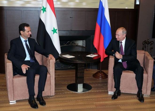 TT Putin chuc mung 'thanh cong quan su' cua TT Assad hinh anh 1
