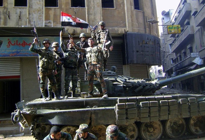 TT Putin chuc mung 'thanh cong quan su' cua TT Assad hinh anh 2