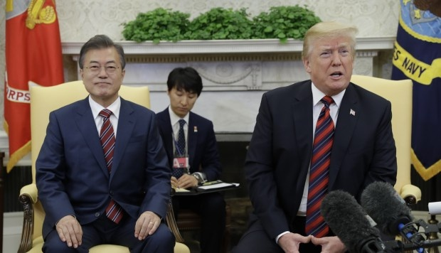 Trump: Hoi nghi voi Kim Jong Un co the bi hoan hinh anh 1