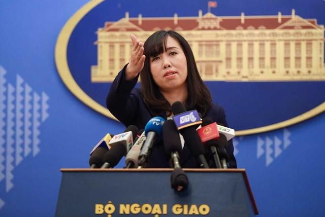 Viet Nam yeu cau TQ rut he thong ten lua trai phep tai Hoang Sa hinh anh