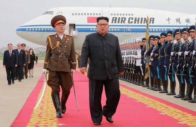 Ong Kim Jong Un da ve toi Binh Nhuong hinh anh
