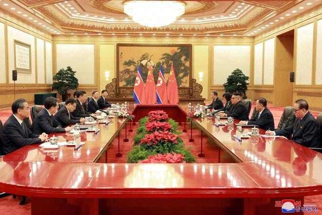 KCNA: Trieu-Trung thao luan tuong lai moi va hoa binh thuc chat hinh anh 2
