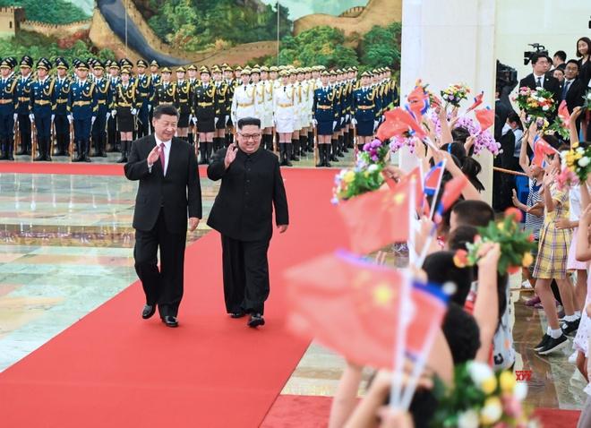 KCNA: Trieu-Trung thao luan tuong lai moi va hoa binh thuc chat hinh anh 1